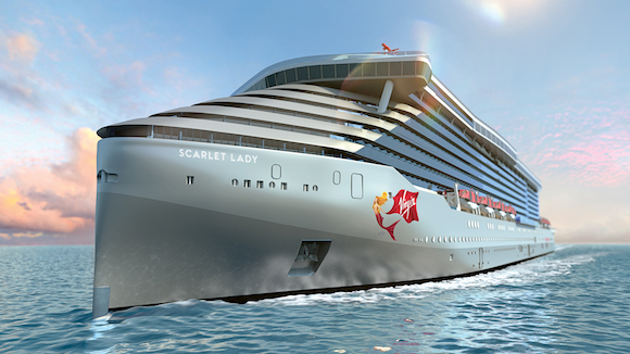 Virgin Voyages Reveals First Ship Will Be Scarlet Lady
