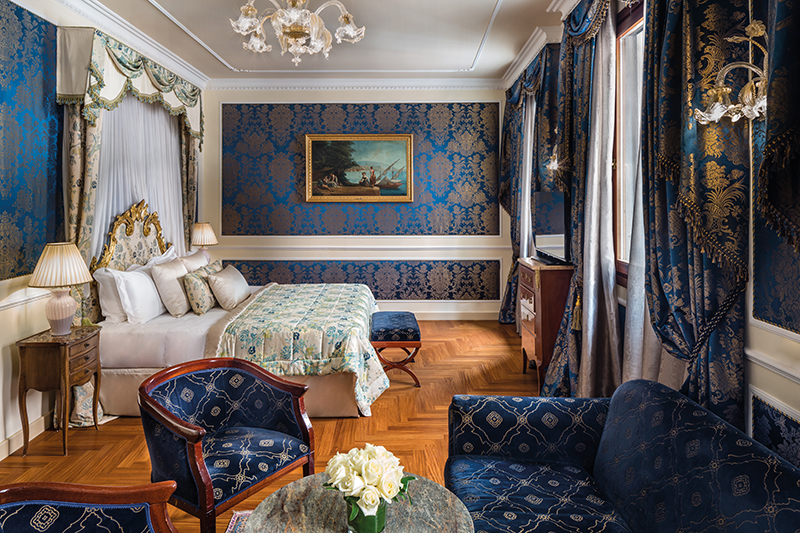 Junior Suite at the Baglioni Hotel Luna in Venice