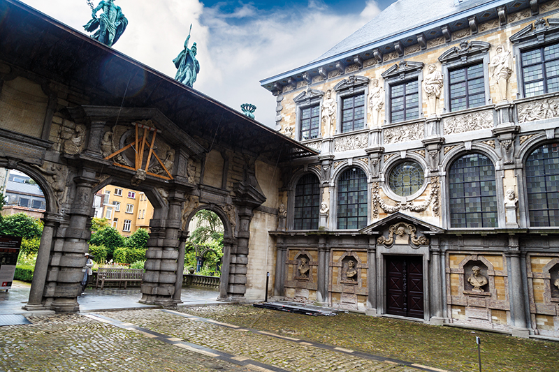 Peter Paul Rubens House in Antwerp, Belgium