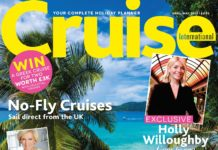 April May 2019 cover of Cruise International