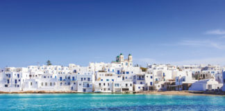Greek village of Naousa, Paros island, Greece