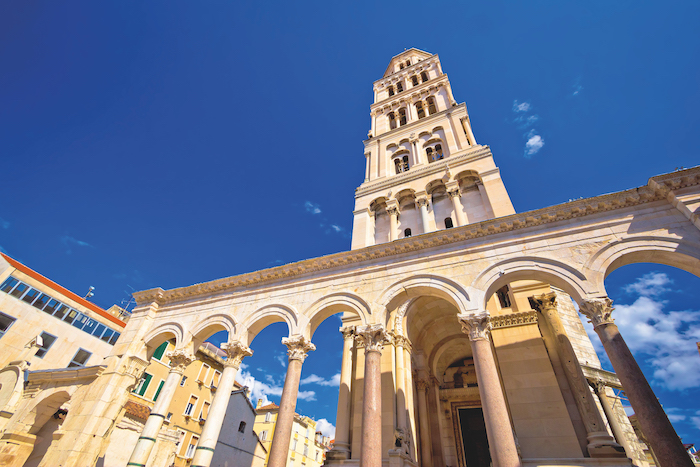 Diocletian's Palace can be seen on Game of Thrones cruises