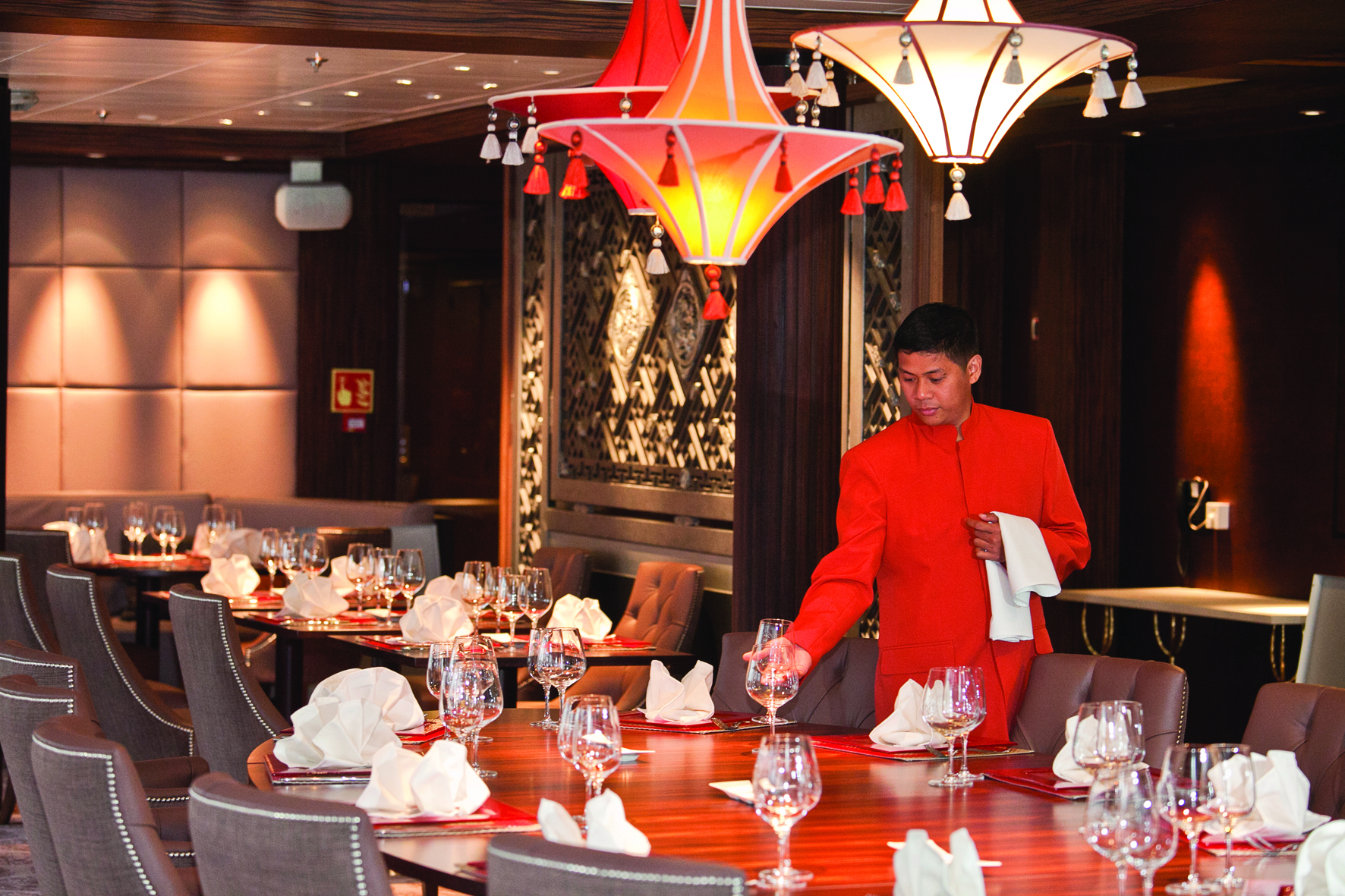 East to West restaurant on Saga Sapphire