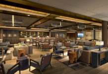 one of the new public spaces on board Seabourn Venture