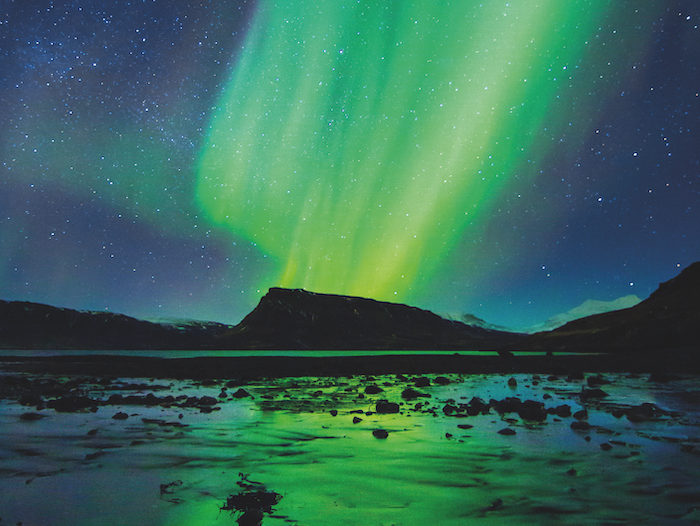 The Northern Lights can be visited on a no-fly cruise with Viking