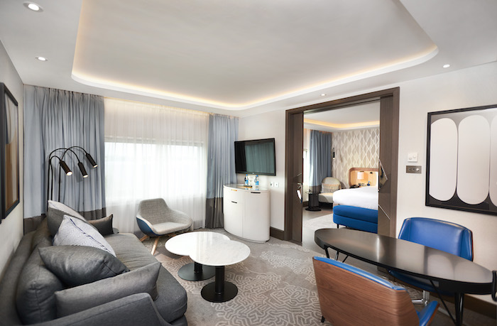 Suite at Hilton London Heathrow Airport