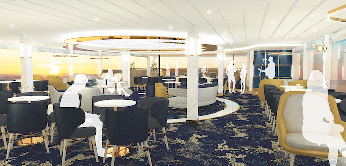 TUI River Cruises lounge