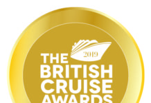 The British Cruise Awards 2019 logo