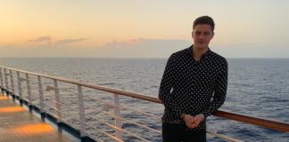 Dr Alex from Love Island on Carnival Horizon