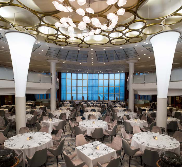 Metropolitan Restaurant features in the Celebrity Summit review