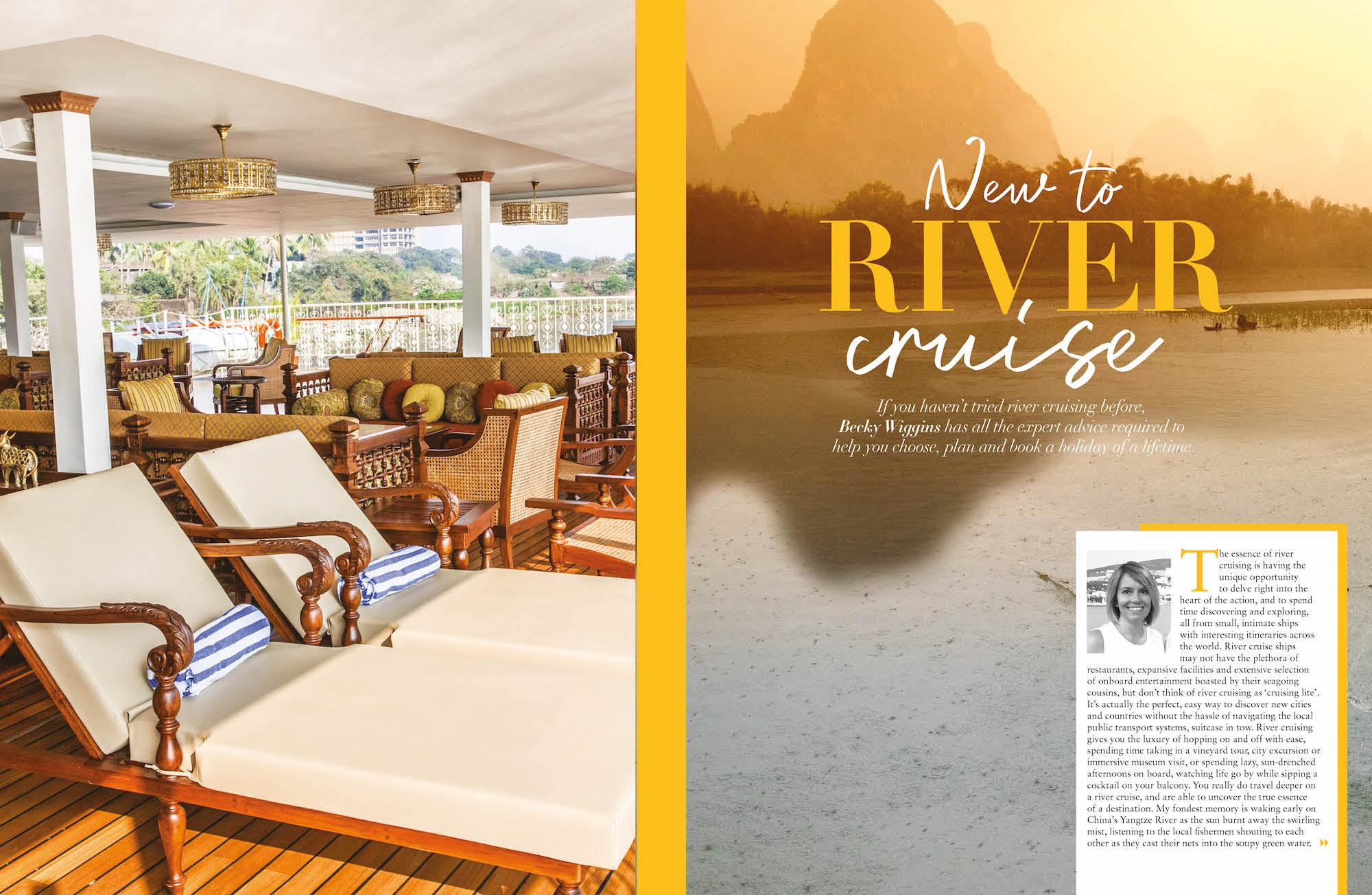 New to River Cruising in cruise International June/July 2019