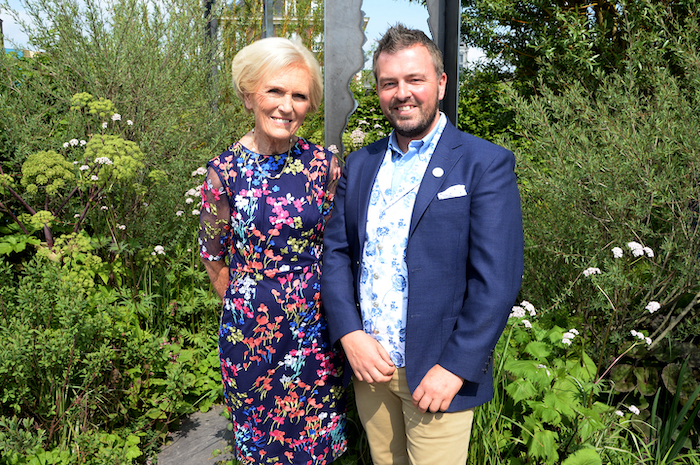 Mary Berry and Paul Hervey-Brookes