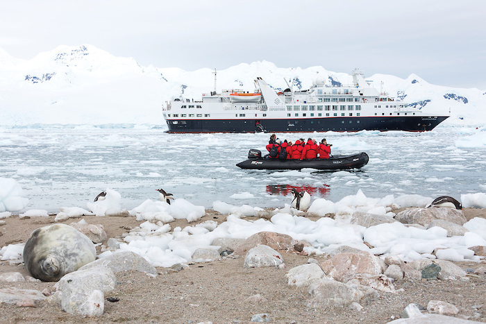 Silver Explorer is the first in Silversea's Expedition Class