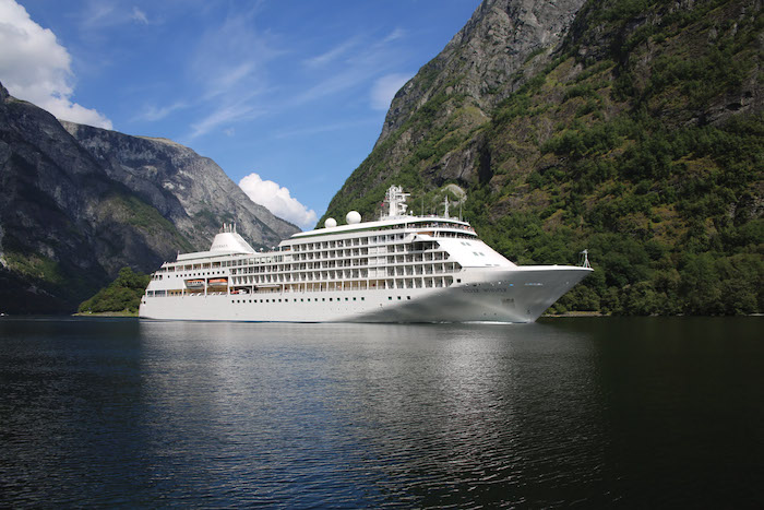 Silversea's Silver Whisper is part of the Millennium Class