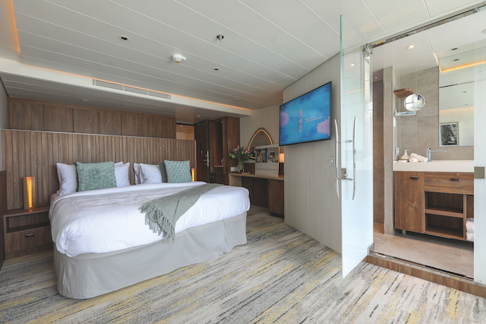 A Sky Suite on board Celebrity Flora