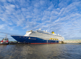 Spirit of Discovery completes conveyance