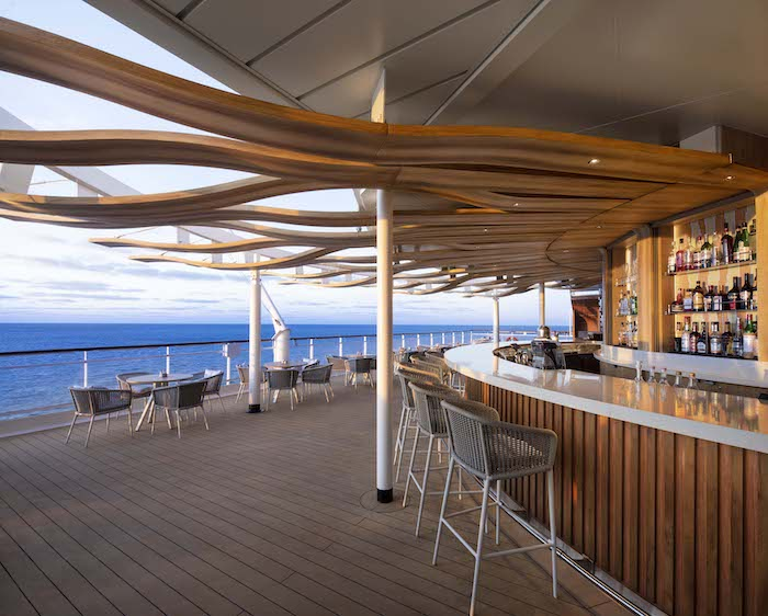 The Sunset Bar on board Celebrity Summit