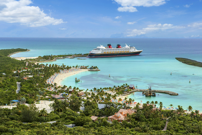Castaway Cay visited as part of Disney cruises 2020 sailings