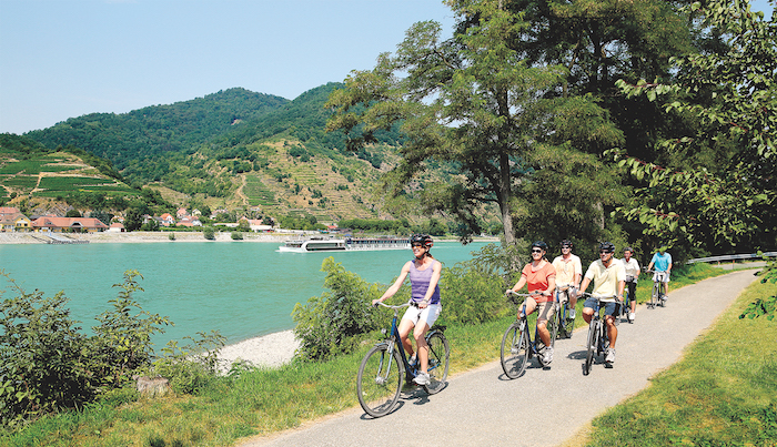 cycling on the Danube river cruise tips