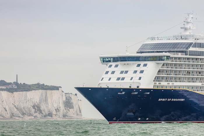 Spirit of Discovery arrives in Dover
