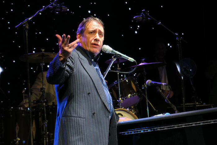Jools Holland performing on Spirit of Discovery