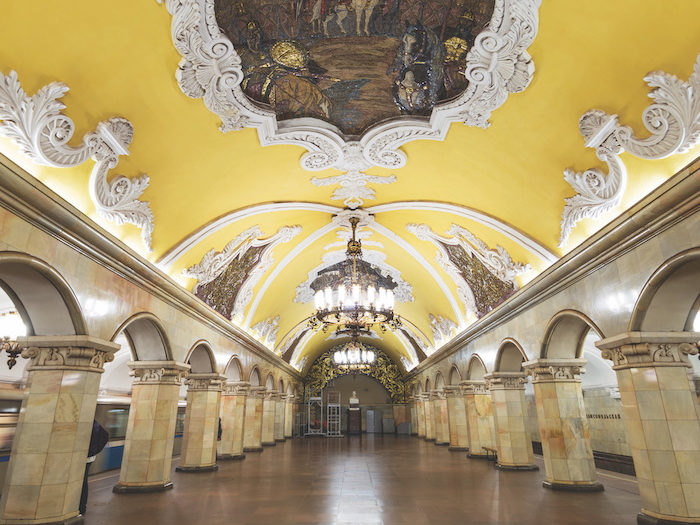 Viking-russia-river-cruise-Moscow-metro-station