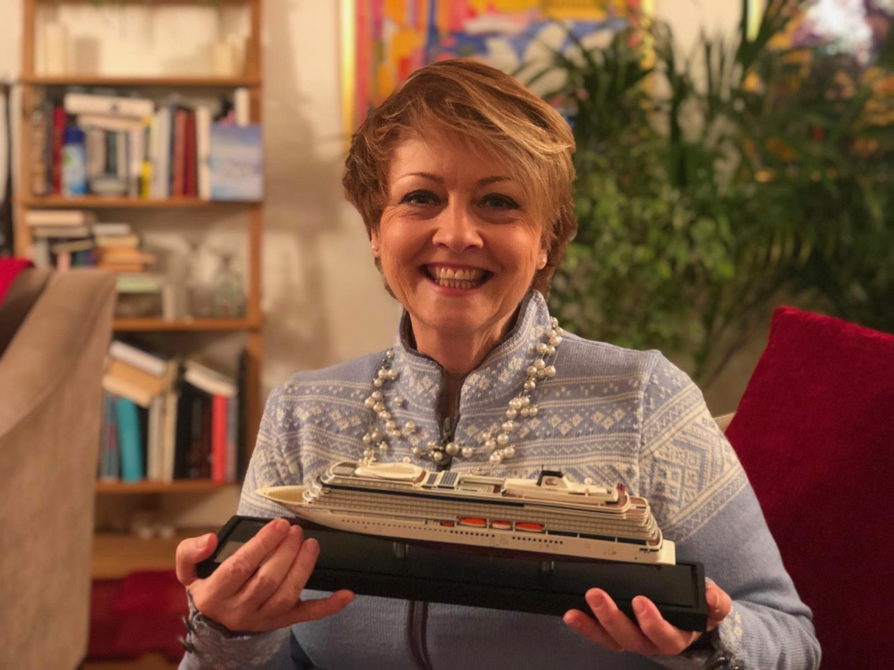 Anne Diamond Godmother Viking Venus