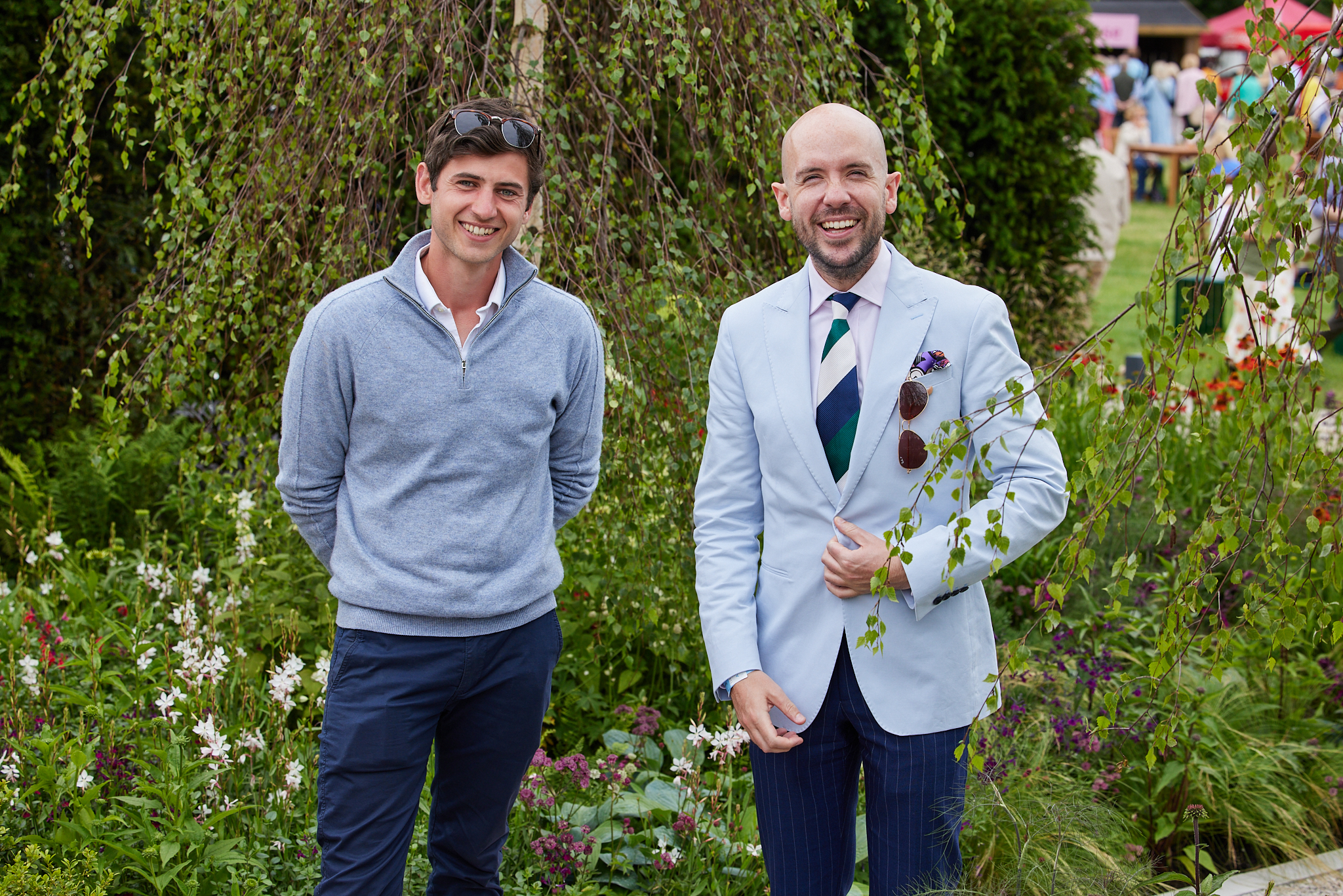 Will Williams and Tom Allen on The Viking Fruliftsliv Garden (2)